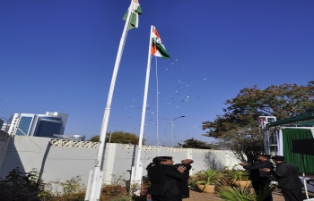 71st Independence Day -2017 on 15.8.2017 at High Commission Chancery, Gaborone