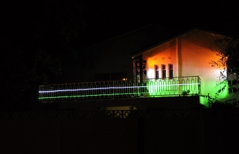 Celebration of India 70 - Lighting up of High Commission Chancery, Gaborone