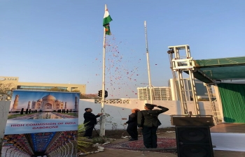 Celebration of 72nd Independence Day of India on 15.8.2018
