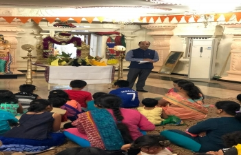 Celebration of 11th Anniversary Balaji Tempel on 15.9.2018
