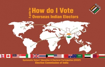 Guide for Overseas Indian Voters - How do I Vote