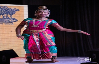 India-Botswana Cultural performances during Celebration of INDOTSWANA DAY (India-Botswana Day) on 28.4.2019 at GICC, Grand Palm, Gaborone