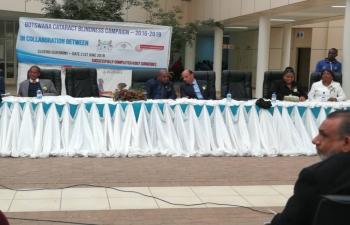 Botswana Cataract Blindness Campaign - Closing Ceremony on 21.6.2019 in Molepolole