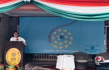 16.08.2019  Universal Brotherhood Day and Rakhi celebrated by HCI Gaborone