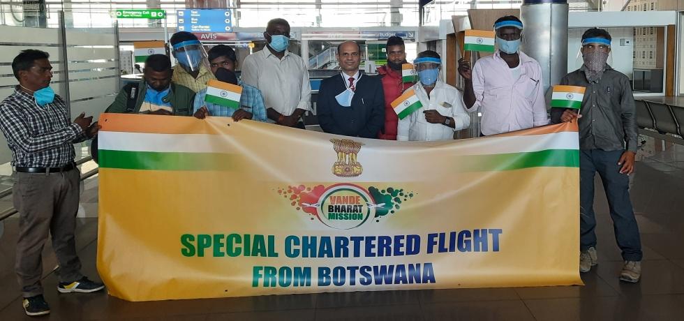 Special Chartered Flight to Mumbai under Vande Bharat Mission