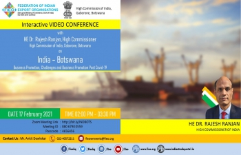 INDIA-BOTSWANA Challenges and Business Promotion