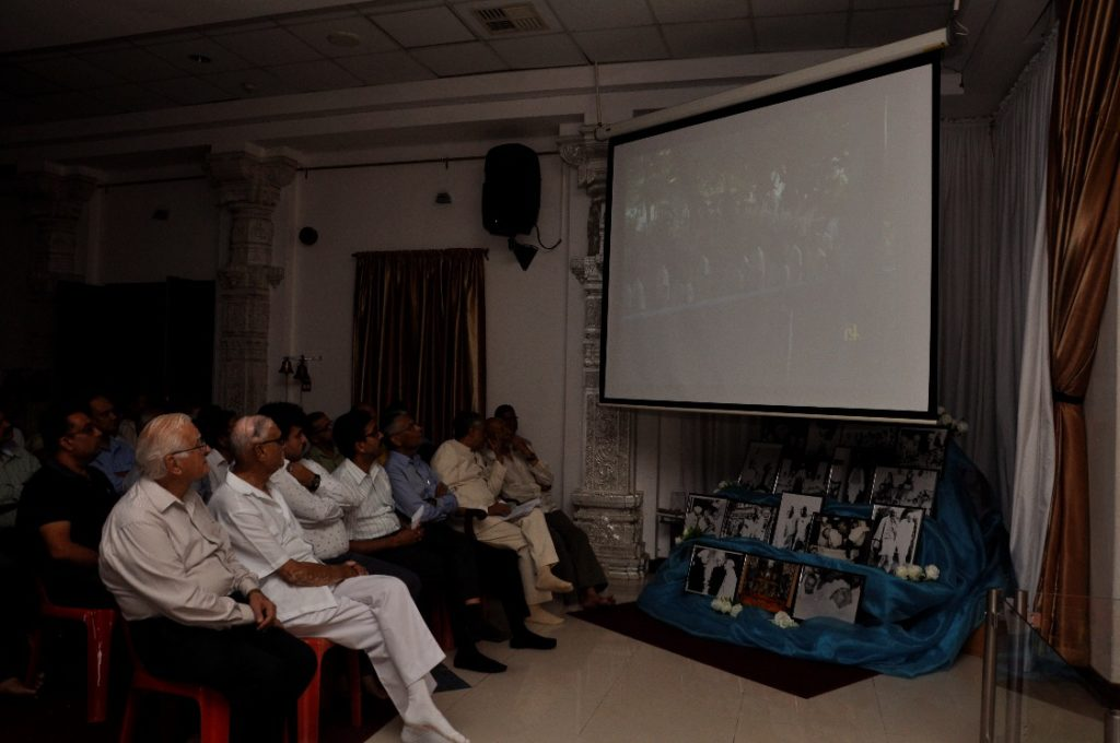 Screening the Documentary Film Man of Silence Sardar Vallabhbhai Patel on the occasion of celebration of 141st Birth Anniversary of Sardar Vallabhbhai Patel on 31.10.2016
