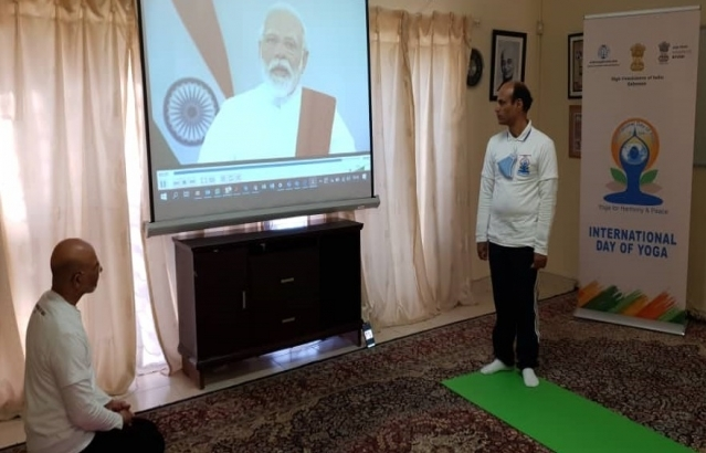 21.06.2020 International Day of Yoga 2020 (Yoga from Home)