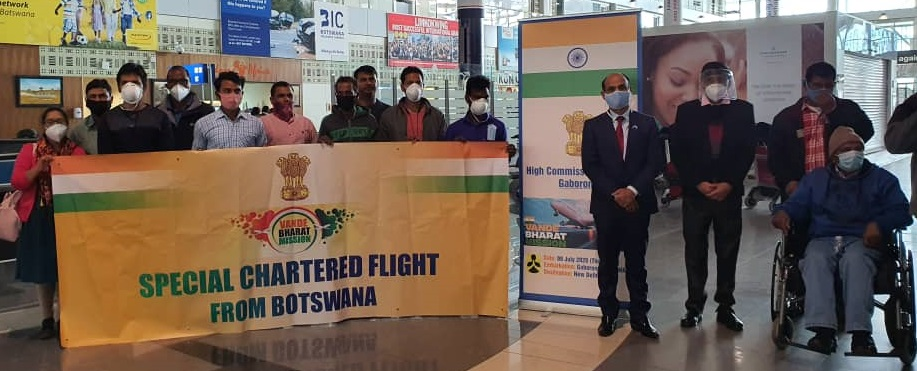 Special Chartered Flight to New Delhi under Vande Bharat Mission