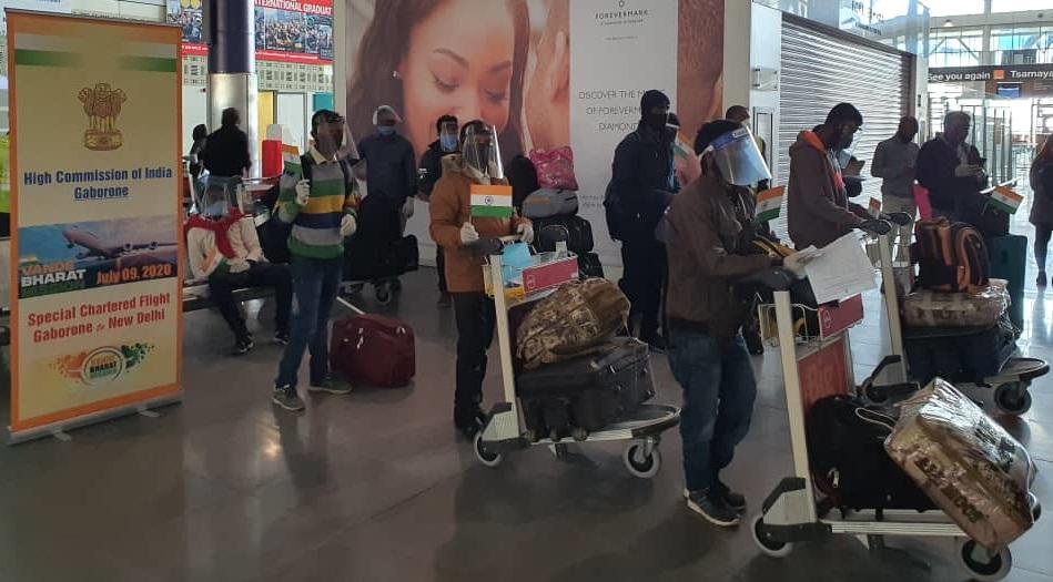 Special Chartered Flight to New Delhi under Vande Bharat Mission