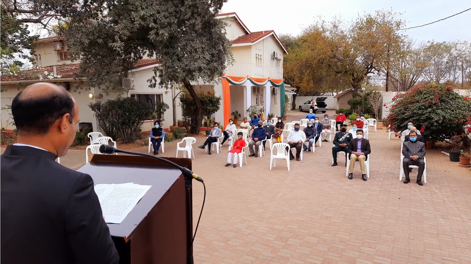 75th Independence Day Celebration in Gaborone